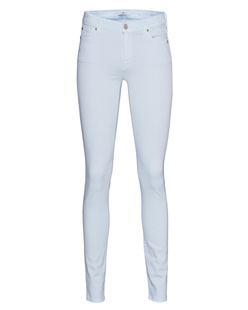 7 FOR ALL MANKIND The Skinny Slim Illusion Luxe Pastel Blue