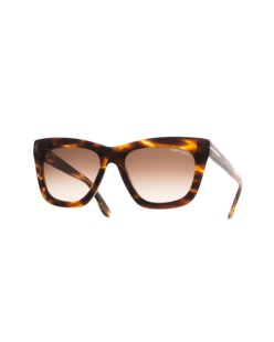 TOM FORD EYEWEAR Celina Square Brown