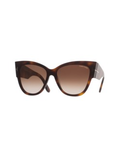 TOM FORD EYEWEAR Anoushka Cat-Eye Havana