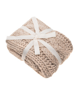 UGG Oversized Knit Blanket Oat