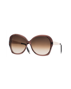 VICTORIA BECKHAM EYEWEAR VBS4 Happy Butterfly Light Aubergine