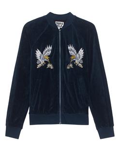 Pam&Gela Embroidered Track Jacket Teal