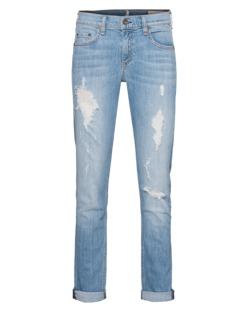 RAG&BONE The Dre Slouchy Rosslyn Blue