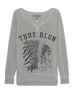 TRUE RELIGION Crew Sweat India Military