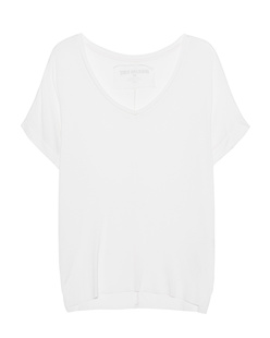 TRUE RELIGION Loosely V Neck Off White