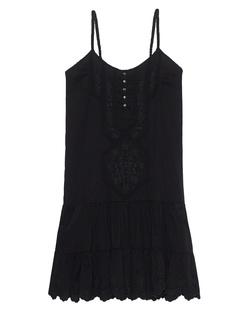 TRUE RELIGION Voile Dress Black