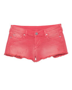 TRUE RELIGION Joey Cut Off Short Pink