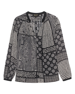 JUICY COUTURE Patchwork Black White