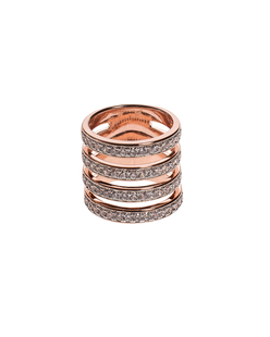 BRONZALLURE Polish Multiband Rose Gold