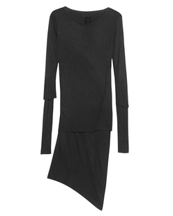 THOM KROM Double Asym Dress Black