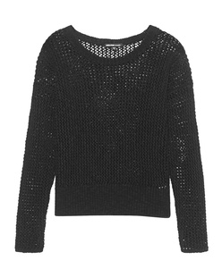 JAMES PERSE Holes Knit Black
