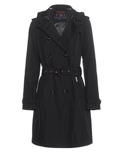 WOOLRICH Fayette City Trench Black