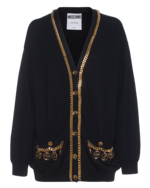 MOSCHINO MOSCHINO Over Wool Gold Black