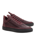Filling Pieces Filling Pieces Low Top Piegavolox Maroon
