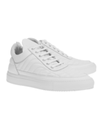 Filling Pieces Filling Pieces Low Top Tiempo White