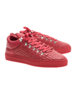 Filling Pieces Filling Pieces Mountain Cut Quilted Circles Red