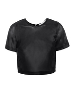 GALVAN LONDON GALVAN LONDON Occasion Crop Gaze Black