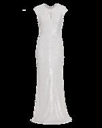 BARBARA SCHWARZER BARBARA SCHWARZER Sparkling Sequins Crossed White