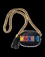 MOSCHINO MOSCHINO Leather Strap Black