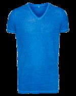 DU4 DU4 Vneck Slim Blue