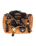 MOSCHINO MOSCHINO Biker Bear Brown