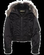 YEEZY YEEZY Fur Bomber Black