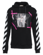 OFF-WHITE C/O VIRGIL ABLOH OFF-WHITE C/O VIRGIL ABLOH Scene Hood Pink Black