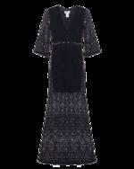 Nightcap Clothing Nightcap Clothing Kimono Cutout Black
