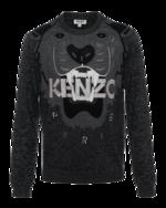 KENZO KENZO Iconic Tiger Knit Anthra