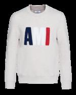 AMI PARIS  AMI PARIS  AMI Sweat Grey