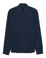 THE KOOPLES THE KOOPLES Chamb Cotton Dark Blue
