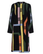 PETER PILOTTO PETER PILOTTO Track Knit Coat Black