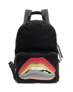 RED VALENTINO RED VALENTINO Rainbow Lips Back Black
