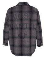TRUE RELIGION TRUE RELIGION Flannel Most Wanted Checked Brown