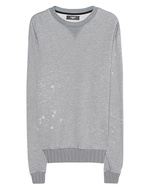 Amiri Amiri Shotgun Crewneck Heather Grey