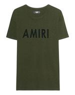 Amiri Amiri Vintage Tee Olive