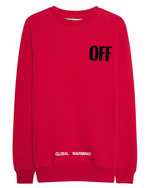 OFF-WHITE C/O VIRGIL ABLOH OFF-WHITE C/O VIRGIL ABLOH Big Oversize Sweater Red