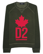 DSQUARED2 DSQUARED2 Sweater DSQ Olive