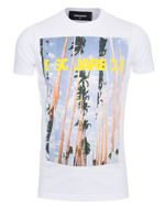 DSQUARED2 DSQUARED2 Palm Tree Road White