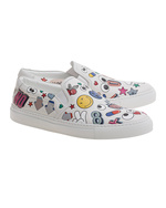 ANYA HINDMARCH ANYA HINDMARCH Skater All Over Wink Chalk