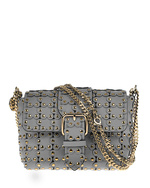 RED VALENTINO RED VALENTINO Mini Cross Body Puzzle Grey