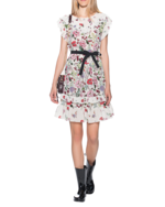 RED VALENTINO RED VALENTINO Flower Dress Multicolor