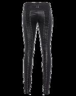 Plein Sud Plein Sud Pantaloni Biker Dos Lace Black