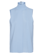 VINCE VINCE Laser Cut Sleeves Light Blue