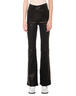 RAG&BONE RAG&BONE Bella Flare Leather Black