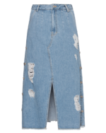 SJYP SJYP Denim Side Button Light Blue