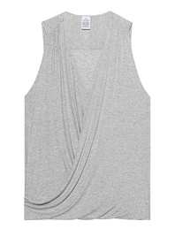 CALVIN KLEIN JEANS Sleep V Neck Heather Grey