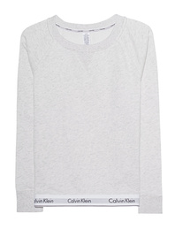 CALVIN KLEIN JEANS Sleepwear Sweatshirt Logo Heather Grey