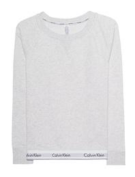 CALVIN KLEIN JEANS Sleepwear Sweatshirt Logo Heather Grey