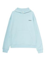 TEKIN Hood Oversize Logo Aquamarine